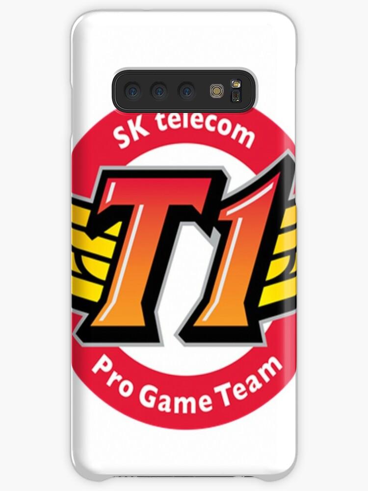 'SKT T1 Logo - LoL - League Of Legends TEAM' Case/Skin for Samsung Galaxy  by Ekkoearn