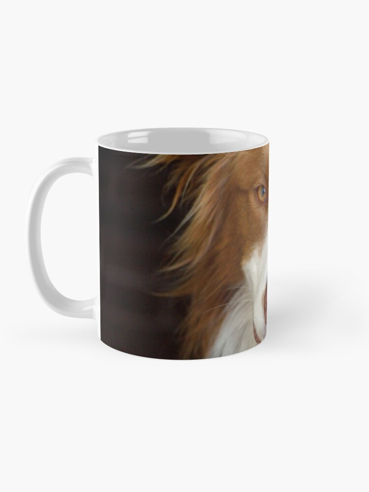 Alternate view of Beautiful Border Collie Mug