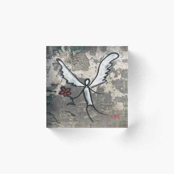 Graffiti Angel Acrylic Block