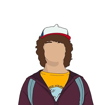 Dustin Stranger Things Design  by SimpleDees