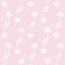 «Pink Palms Pattern» de by-jwp
