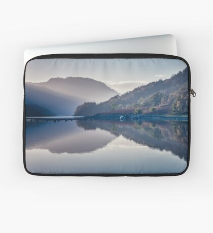 The Boat and The Jetty Laptop Sleeve