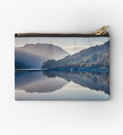 The Boat and The Jetty Zipper Pouch