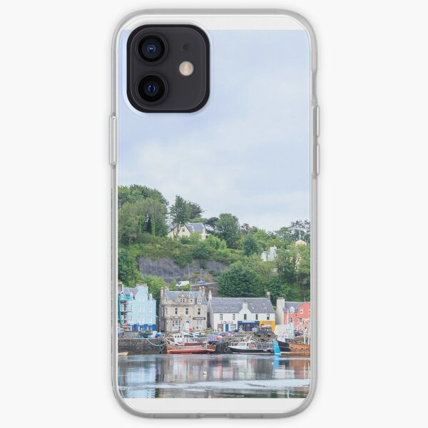 Tobermory the capital of the isle of Mull iPhone Soft Case