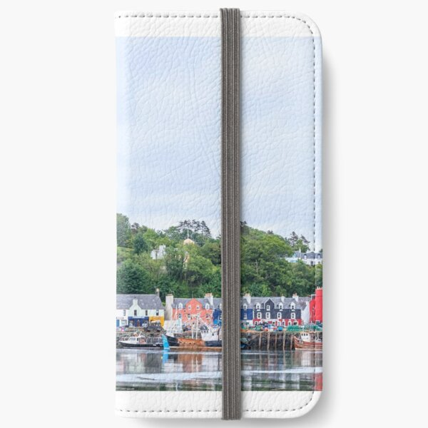 Tobermory the capital of the isle of Mull iPhone Wallet