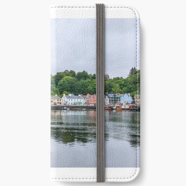 Tobermory of the isle of Mull iPhone Wallet