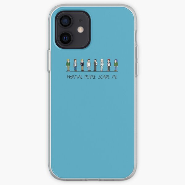 Normal People Scare Me iPhone Soft Case