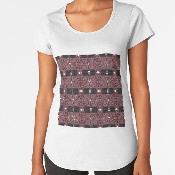 Cyberpunk, Steampunk, Techopunk Premium Scoop T-Shirt