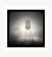 Water Tower TtV #2 Art Print