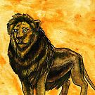 Panthera Leo by Brooksie Fontaine