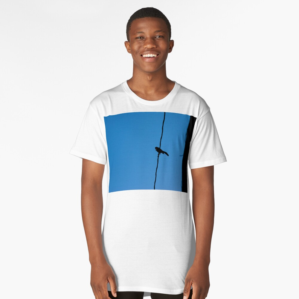 Bird on a wire Long T-Shirt Front