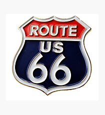 Route 66 Get your Kicks Photographic Print