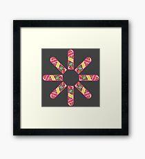 Hoverboard Kaleidoscope Framed Print