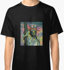 Miss Liberty [pop art edition] Classic T-Shirt