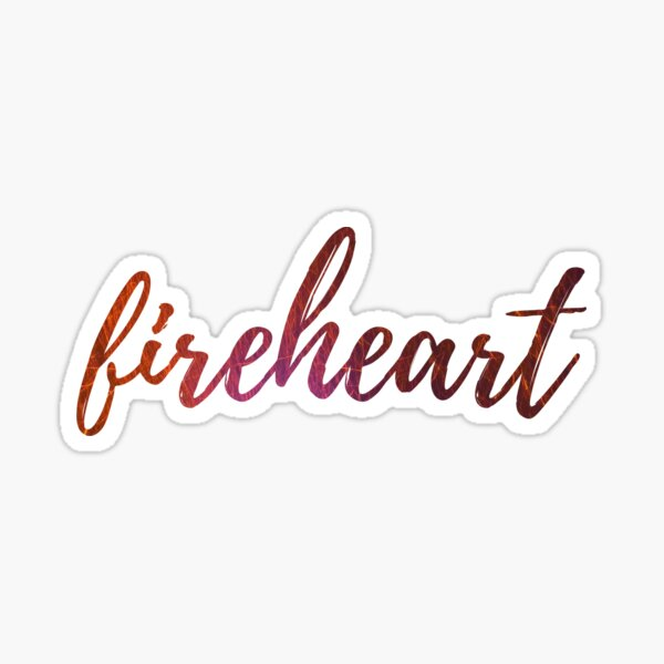 Fireheart- Trône de verre Sticker