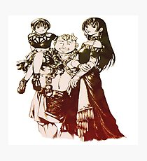 Suikoden Eilie, Rina and Bolgan Photographic Print