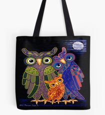 Owl I Want Is You (Square Version) Tote Bag
