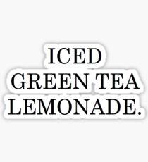 ICED GREEN TEA LEMONADE STARBUCKS Sticker