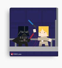 Star Wars - Darth Vader vs Luke Skywalker Canvas Print