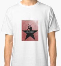 Star Wars - Hamilton Mashup: 10 Duel Commandments (Red) Classic T-Shirt
