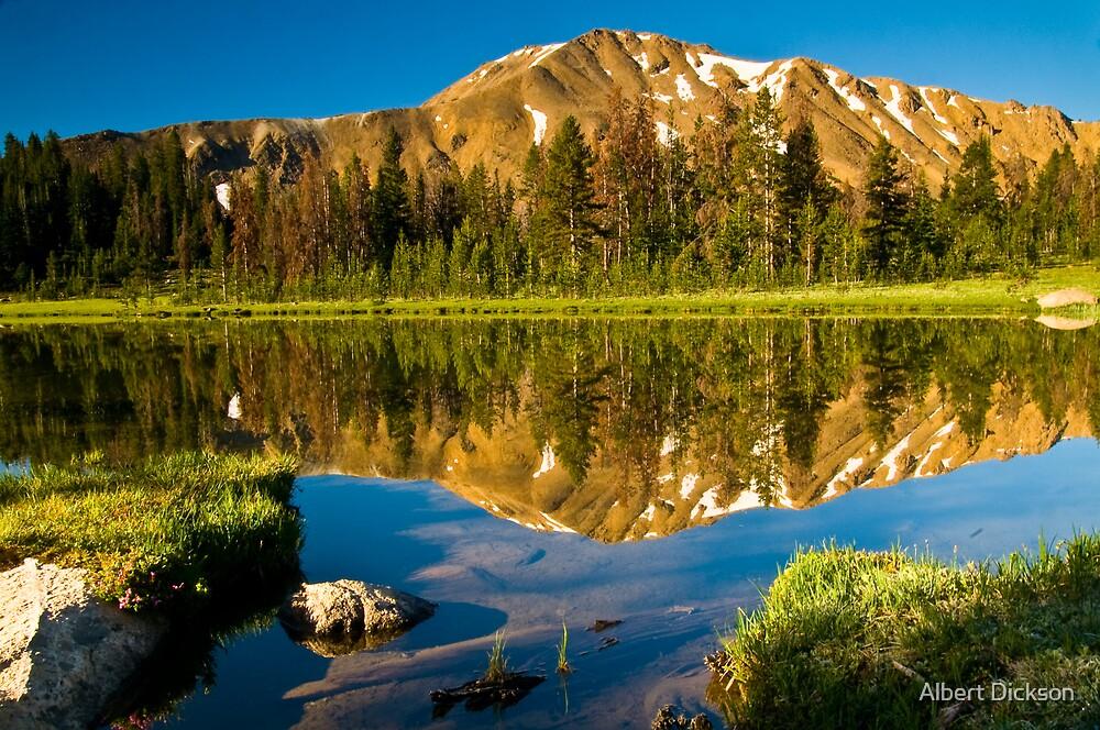 4th of July Lake  by Albert Dickson