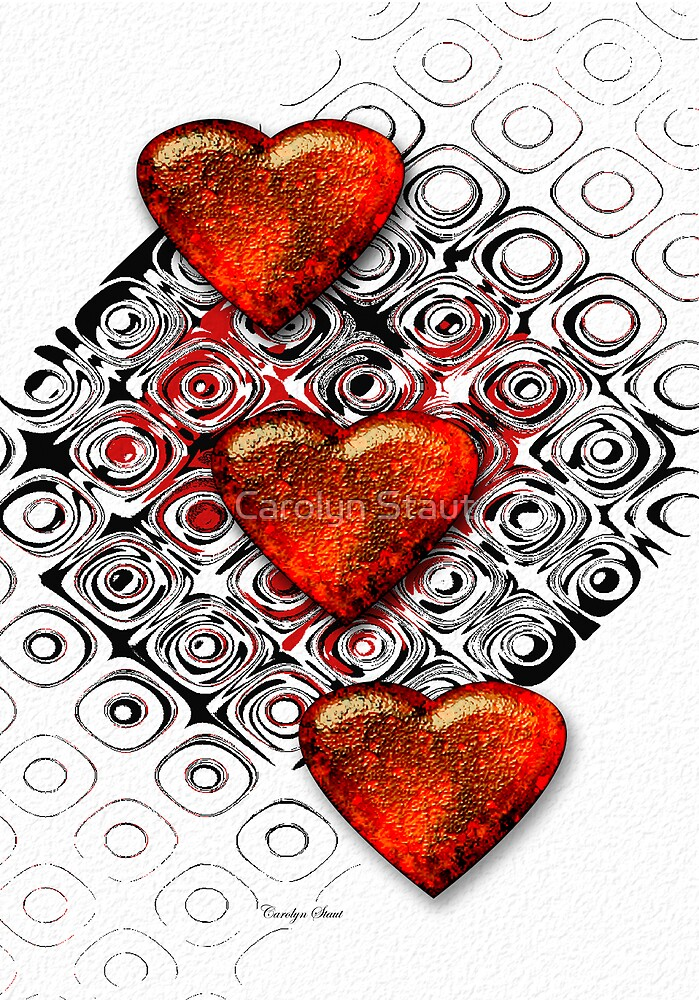 Love X 3 by Carolyn Staut