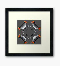 Time Traveler's Kaleidoscope Framed Print