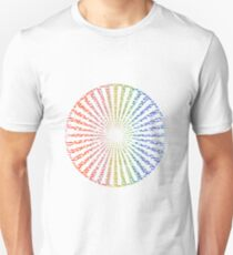 Wheel of hope Unisex T-Shirt