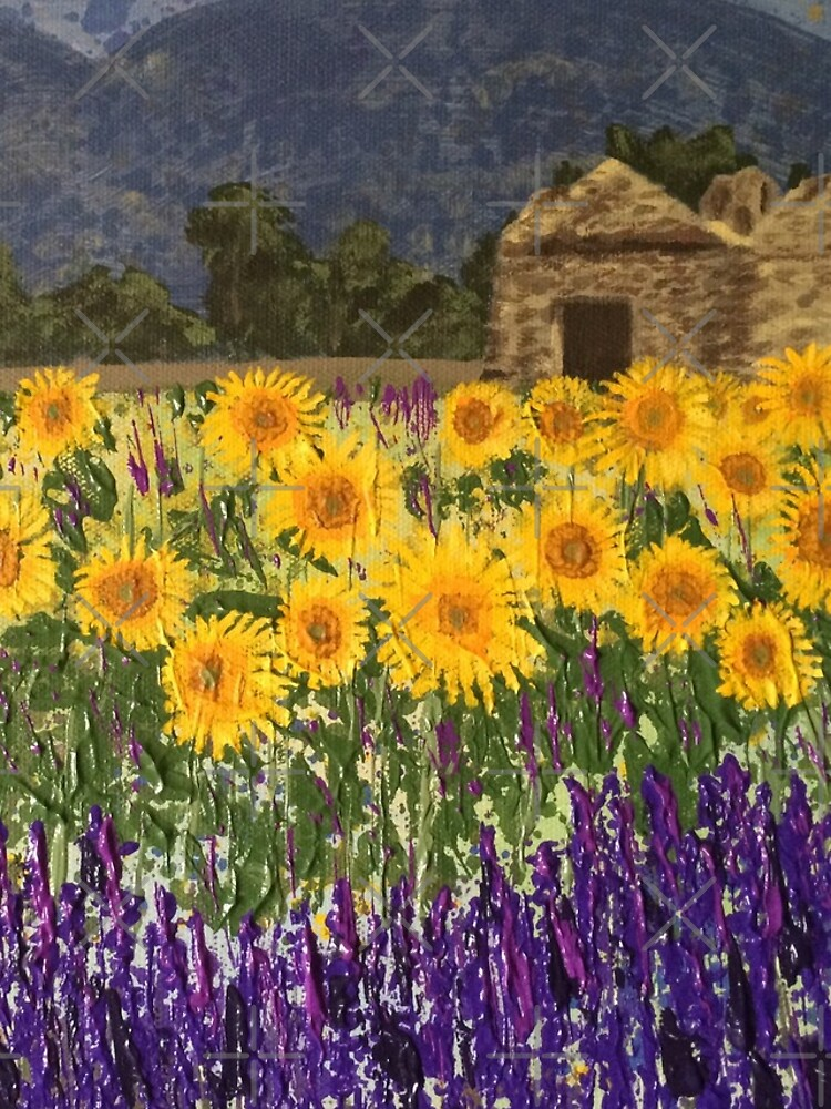 Fields of Provence by gwmmsinclair