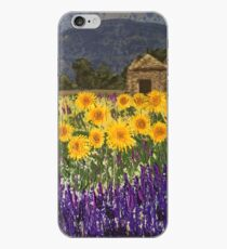 Fields of Provence iPhone Case