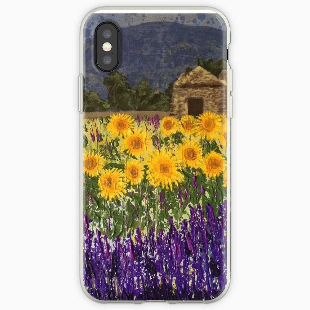 Fields of Provence iPhone Cases & Covers