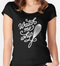 Watch Me Whip - Cooking & Baking Fitted Scoop T-Shirt