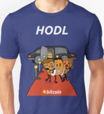 Bitcoin Pizza at the Red Carpet Unisex T-Shirt