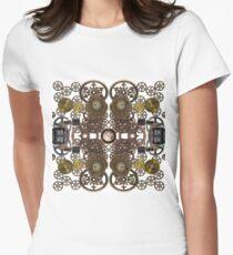 CyberPunk Steampunk Technopunk Clothing  #CyberPunk #Steampunk #Technopunk Women's Fitted T-Shirt