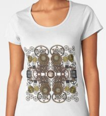 CyberPunk Steampunk Technopunk Clothing  #CyberPunk #Steampunk #Technopunk Women's Premium T-Shirt