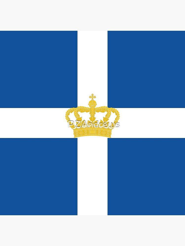 Naval Jack of Kingdom of Greece by PZAndrews