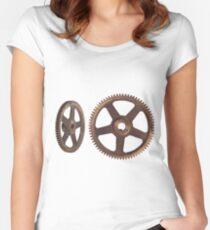 CyberPunk Steampunk Technopunk  #CyberPunk #Steampunk #Technopunk Women's Fitted Scoop T-Shirt