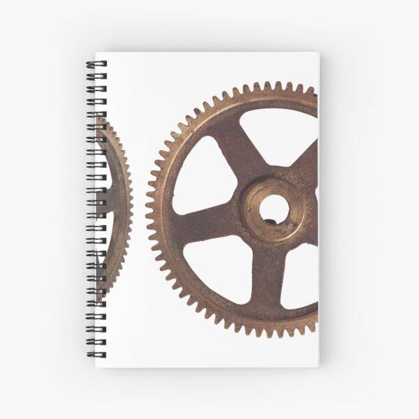 CyberPunk Steampunk Technopunk #CyberPunk #Steampunk #Technopunk Spiral Notebook