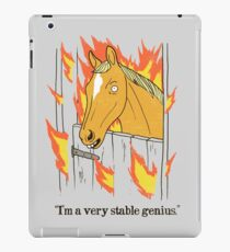 Stable Genius iPad Case/Skin