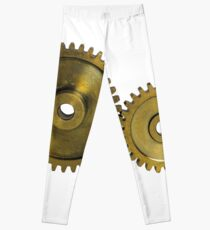 CyberPunk Steampunk Technopunk #CyberPunk #Steampunk #Technopunk Leggings