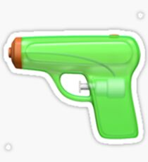 Squirt Gun Emoji Sticker