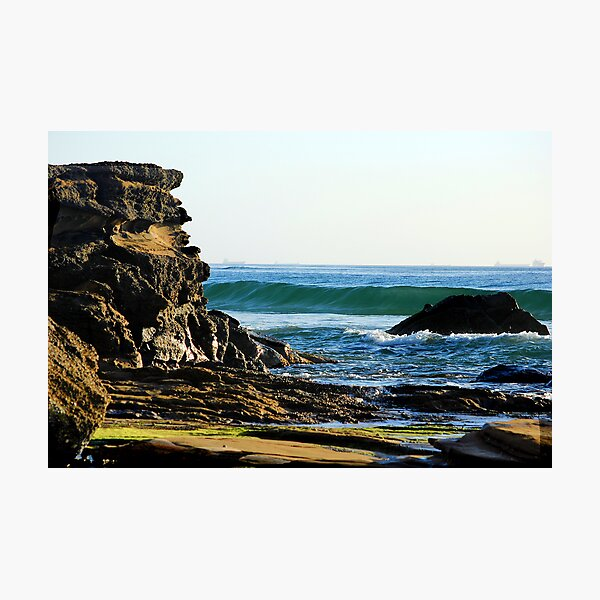 Ocean Splendour - Caves Beach Photographic Print