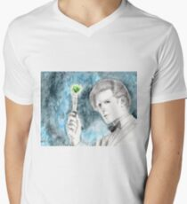 11th Doctor - Doctor Who Men's V-Neck T-Shirt