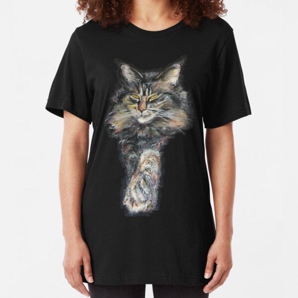 maine coon Slim Fit T-Shirt