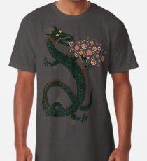 Dragon, Flower Breathing Long T-Shirt