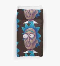 Rick and Morty-- trippy Rick Duvet Cover