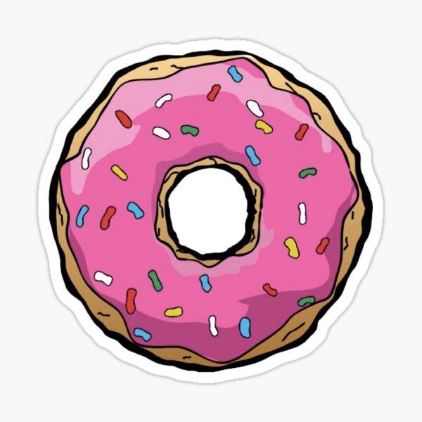 Simpsons Donut Pegatina