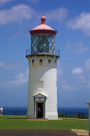 Lighthouse on Kilauea, Kaua'i by Hillary Bowden