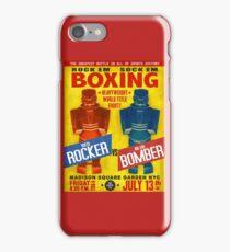 Rock Em Sock Em Boxing! iPhone Case/Skin