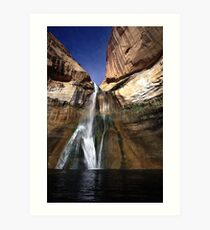 Lower Calf Creek Falls Art Print